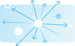 Advanced content distribution and access graphic