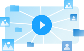 Built-in video processing graphic