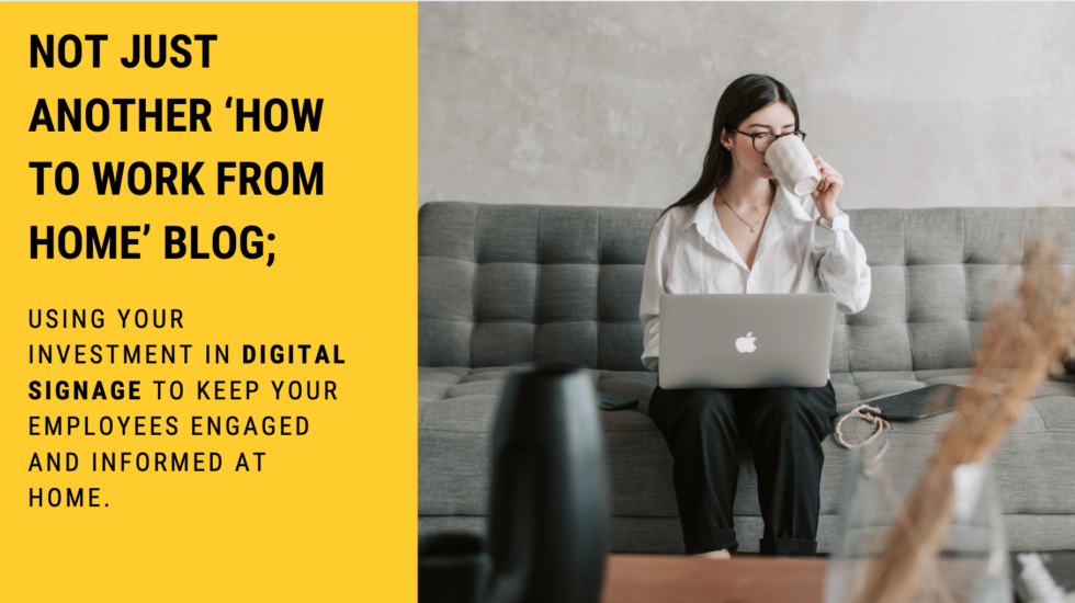 Using Digital Signage in Employee Communications blog