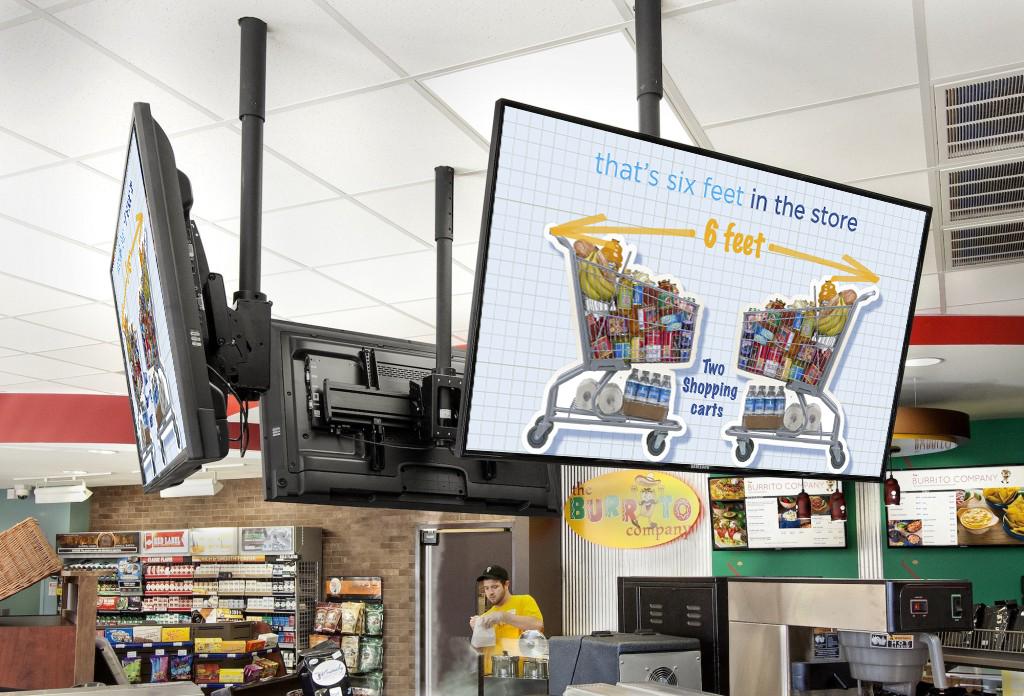 digital digital signage for restaurants