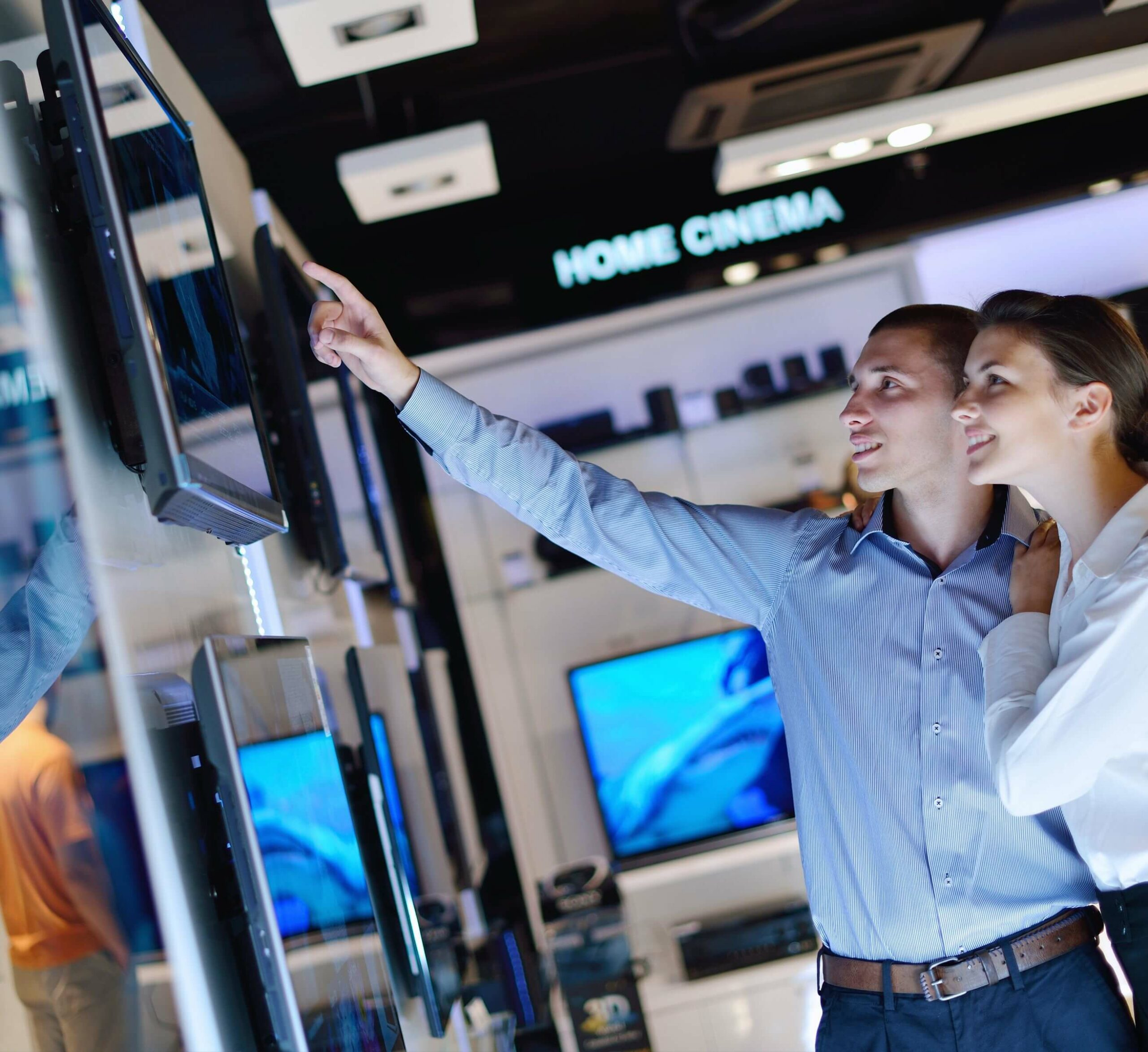 content management system in-store screens