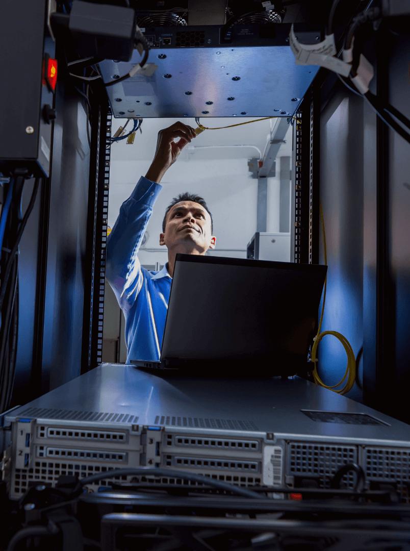 System installation for enterprise solutions