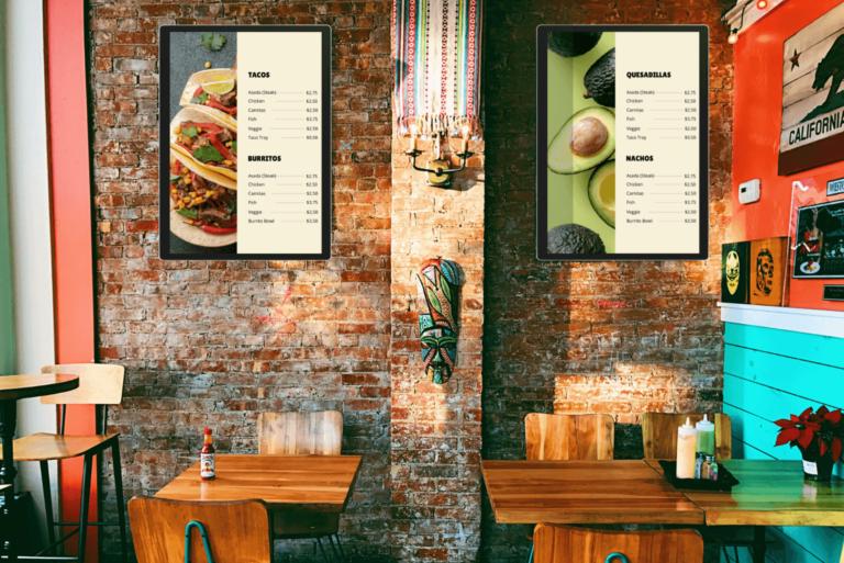 Key Benefits of Using Digital Signage for Restaurants