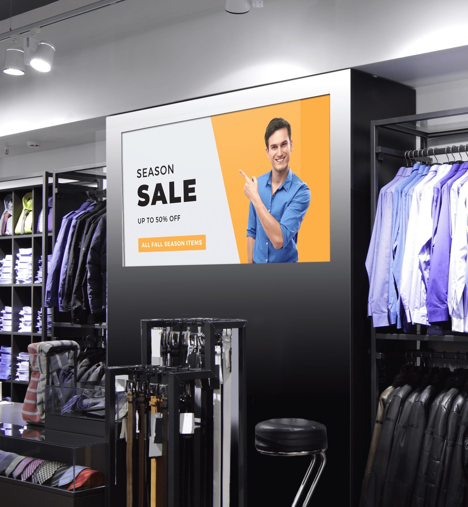 content management system used in-store